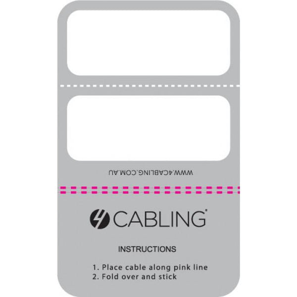 Cable Labels 100 Pack - Small