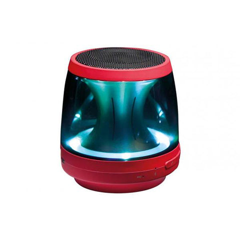 Lg Ph1R Bluetooth Speaker Red Led Mood Lighting Built In Microphone