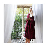 Bambury Microplush Robe Merlot