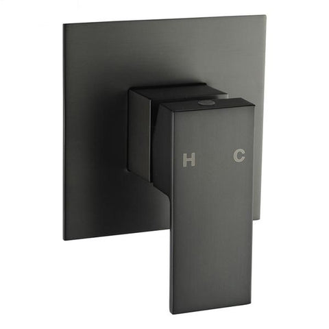 Gunmetal Grey Shower Wall Mixer