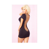 Party In The Back Mini Dress