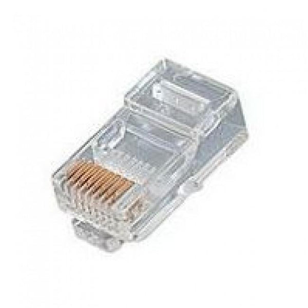8 Position Stranded Rj45 Cat 5E Crimp Plug 10 Pack