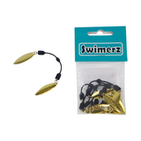 Swimerz Tail Spinner Hammered 5 Pack