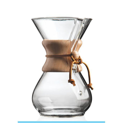 Chemex 6 Cup Wood Neck Coffee Maker-Chemex-Coffee Hit