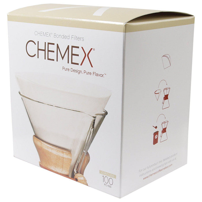 Chemex Coffee Filter Papers for 6-8-10 Cup (100)-Chemex-Coffee Hit