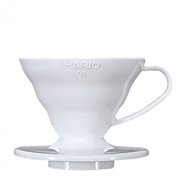 Hario V60 01 White Ceramic Dripper-Hario-Coffee Hit