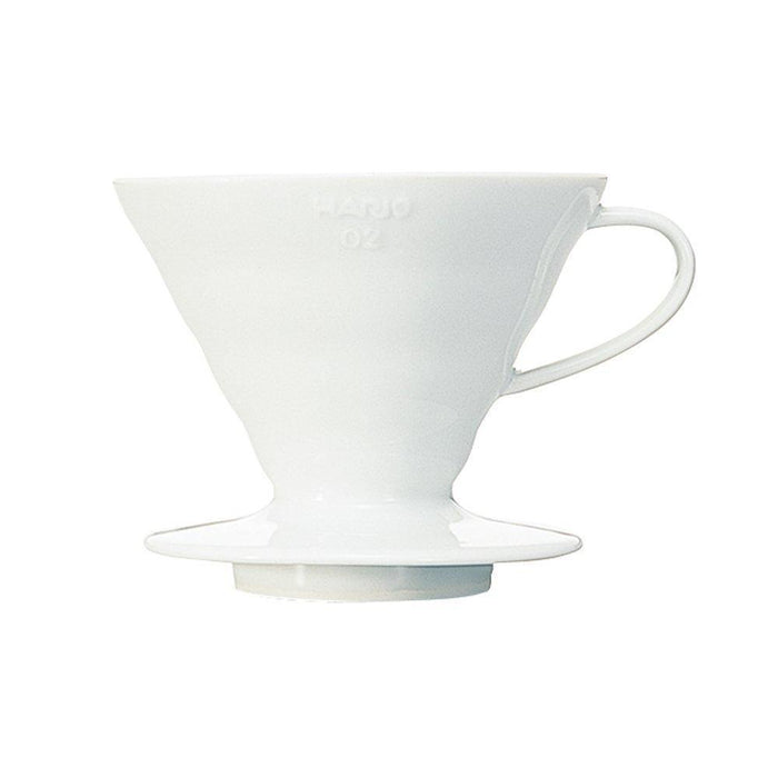 Hario V60 02 White Ceramic Dripper-Hario-Coffee Hit