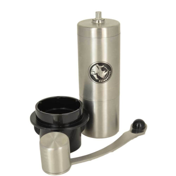 Rhino Coffee Gear Mini Hand Grinder with AeroPress Adapter-Rhino Coffee Gear-Coffee Hit