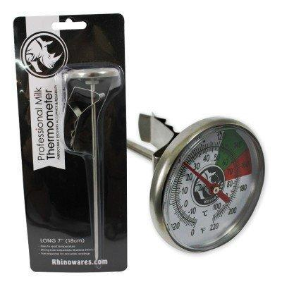 "Rhino Milk Thermometer Short Stem 5""/13cm-Rhino Coffee Gear-Coffee Hit"