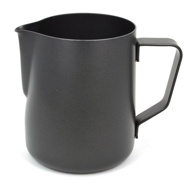 Rhino Stealth Black Non Stick Milk Pitcher-Rhino Coffee Gear-Coffee Hit