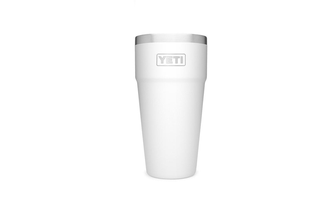 Yeti Coolers Rambler 26oz Stackable Cup White