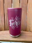 Fierce Maroon Skinny Can Holder