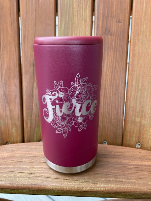 Fierce Maroon Drinkware