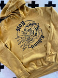 Stay Hungry Hoodie - Mustard