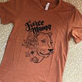 Fierce Mama - Lion Tee
