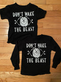 Littles Don't Wake the Beast shirts