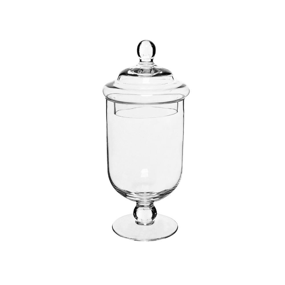 Apothecary Glass Candy Jar with Lid 600ml - Propstation