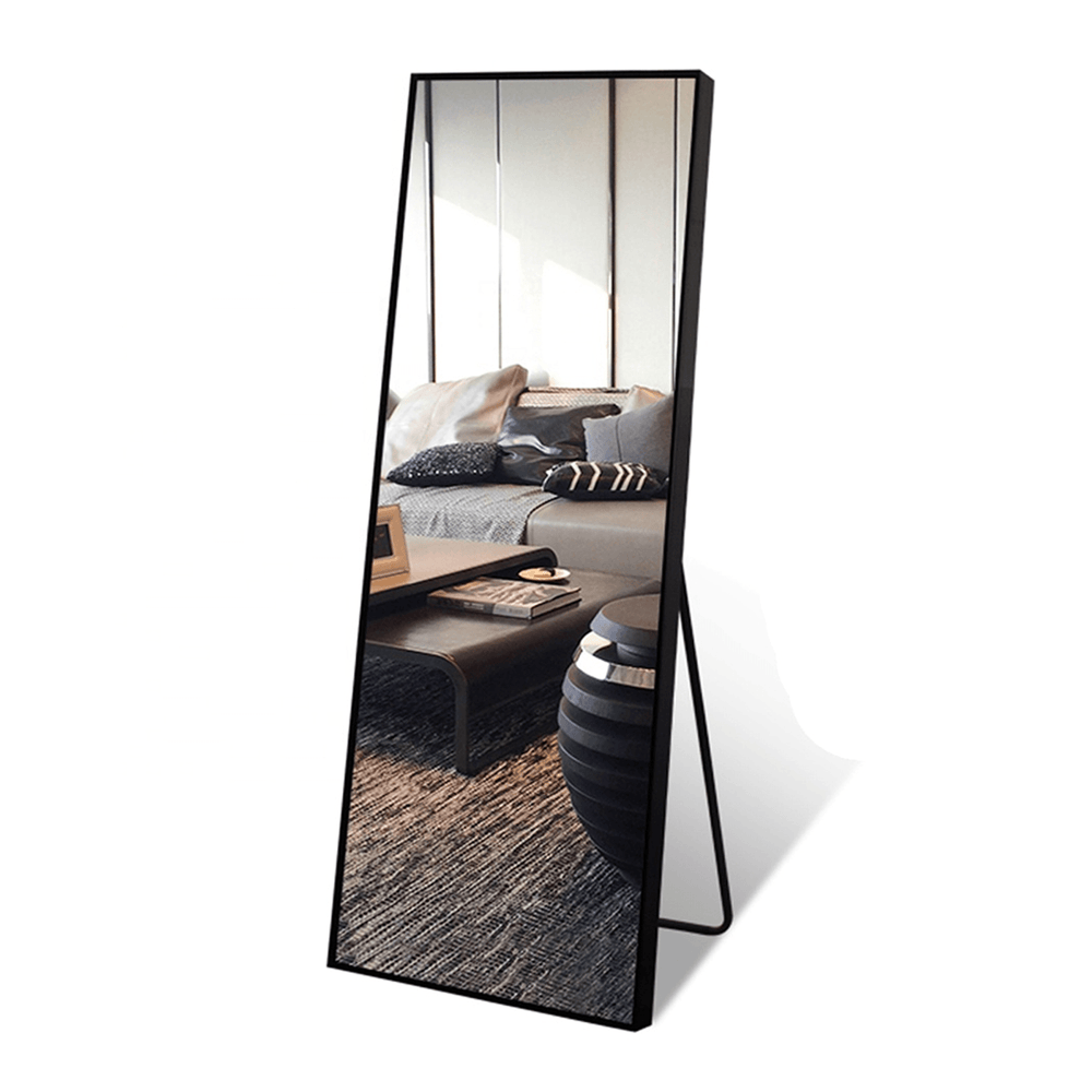 Aluminum Alloy Frame Full Length Standing and Hanging Mirror 180cm