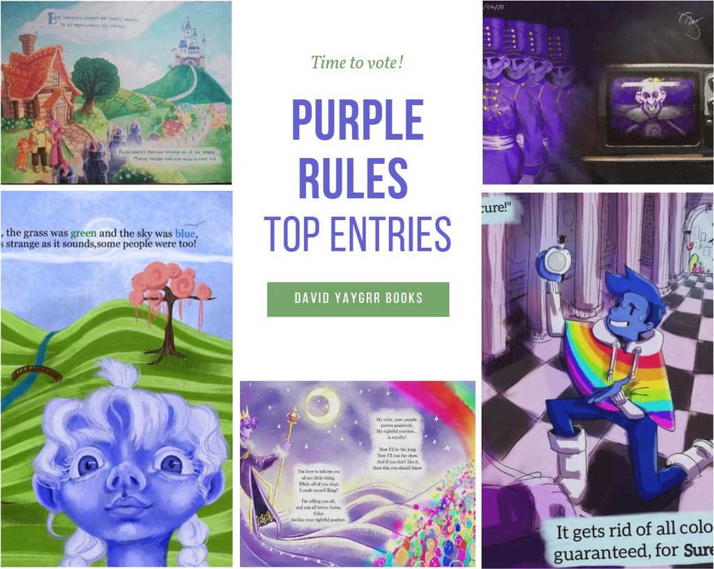 Current Top Entries for David YayGrr's Purple Rules Illustration Contest