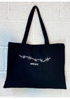 Barbed Extra Large recycled Shopper Tote Bag