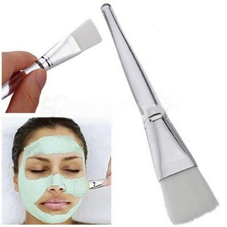 Women Lady Girl Facial Mask Brush Face Eyes Makeup Cosmetic