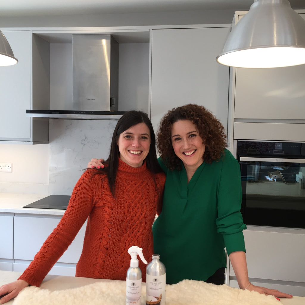 Washing Your Sheepskin Nursing Rug * Collaboration with Little Beau Sheep