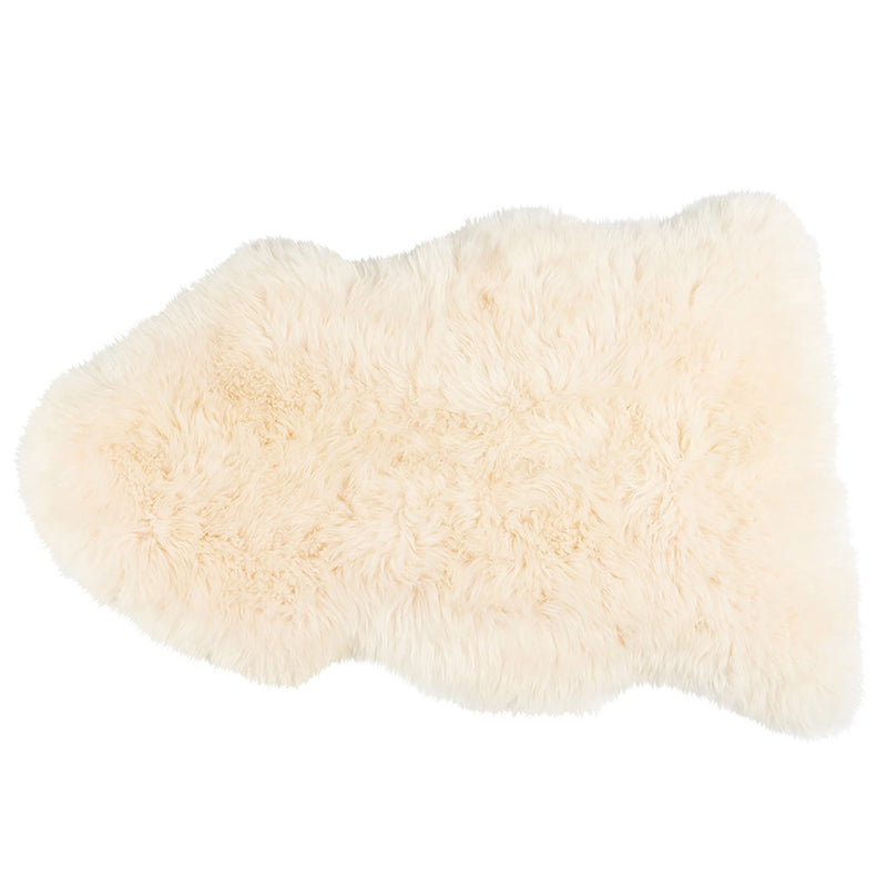 Shepherd Luxury Long Haired Sheepskin Rug - Linn (Champagne)
