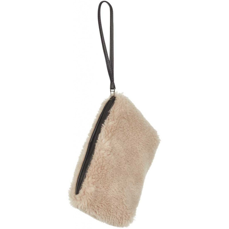 Nelly Sheepskin Clutch Bag