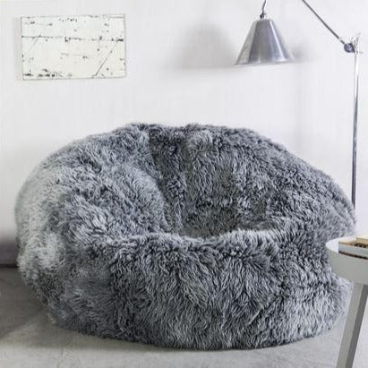 Sumo Grey Yetti British Made Beanbag by Owen Barry
