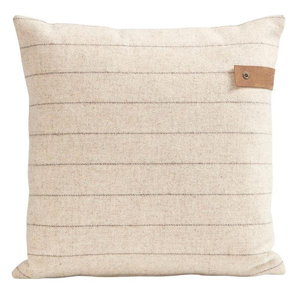 Marina Wool Striped Pillow 40cm Square