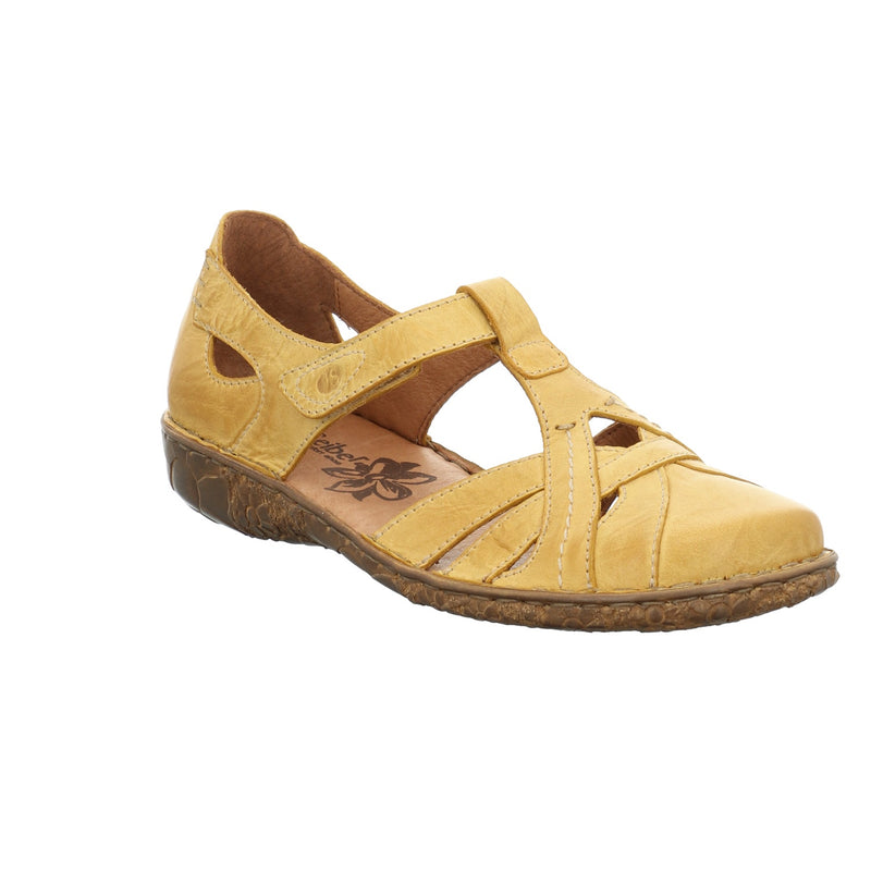 Womens leather shoes in yellow by Josef Seibel