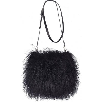 Tibetan Sheepskin Muff / Shoulder Bag