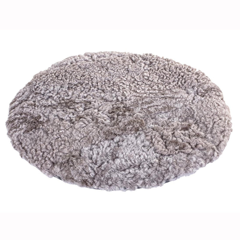 Stone Padded Sheepskin Chair Cushion (Fia)