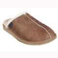 Men's Sheepskin Slipper Mule with Sole by Shepherd