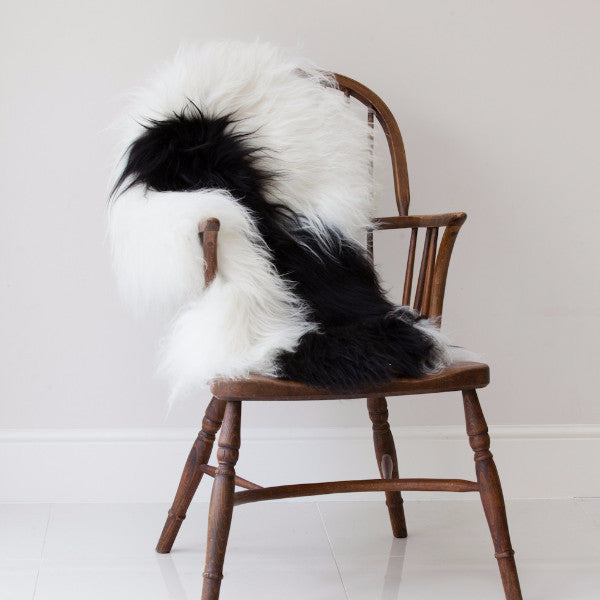 Iceland Sheepskin Rug with Natural Black Markings