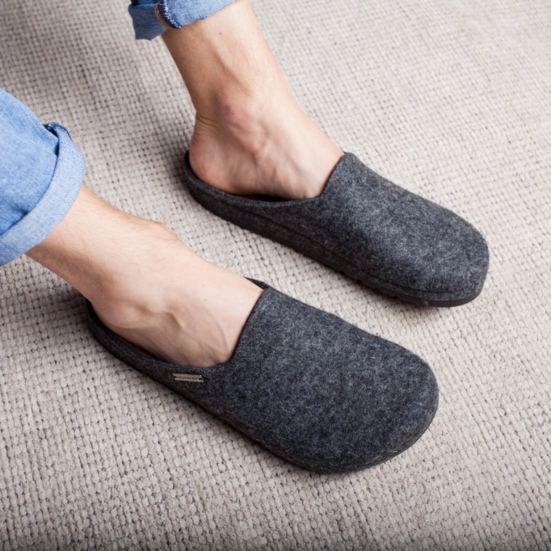 Shepherd Of Sweden Men's Wool Slippers / Mules Style Isak