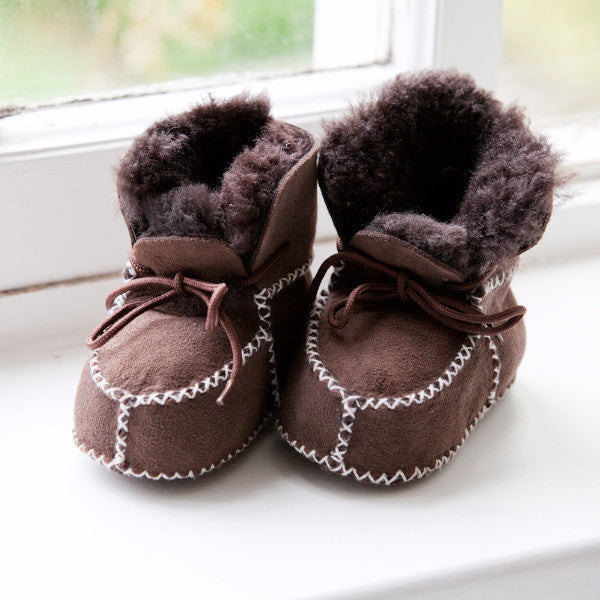 Laced Baby / Toddler Booties