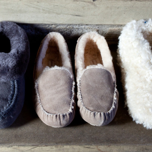 Mirre Sheepskin Moccasin Slippers from Shepherd