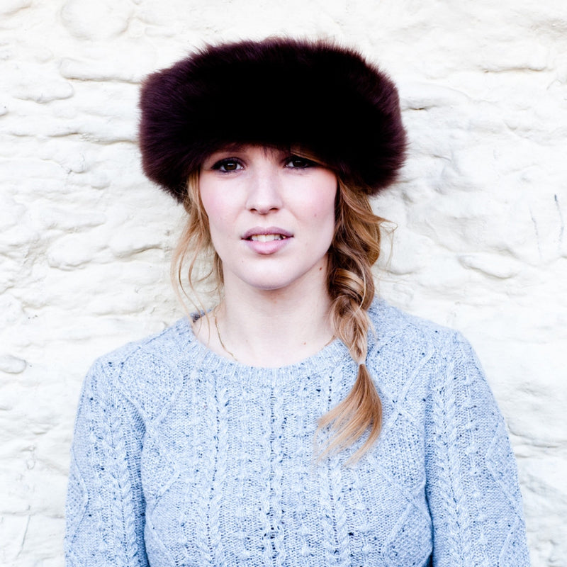 Full Sheepskin Headband