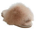 Shepherd Ladies Sheepskin Slipper / Sliders 'Tessan' in Honey