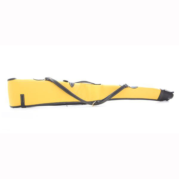 Yellow and Black Leather Gun Slip
