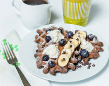 Load image into Gallery viewer, Cocoa Chocolate Flax Waffles