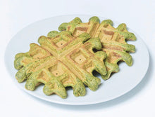 Load image into Gallery viewer, Banana Spinach Waffles