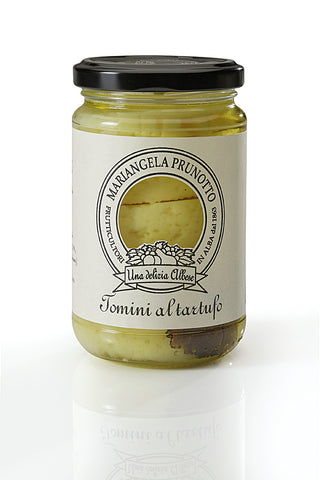 PRUNOTTO - TOMINO CHEESE IN OLIVE OIL WITH TRUFFLE 280G - FERRARI SINGAPORE
