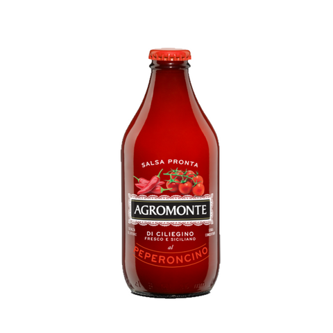 AGROMONTE - SAUCE CHERRY TOMATO WITH  CHILLY 360G - FERRARI SINGAPORE