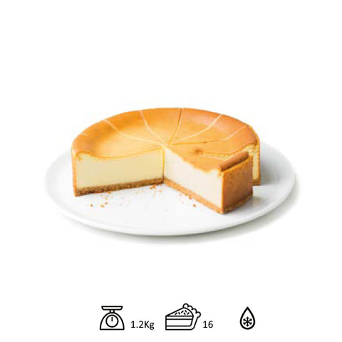 BINDI - CAKE NEW YORK CHEESE CAKE 1.2KG / 16 PORTIONS - FERRARI SINGAPORE