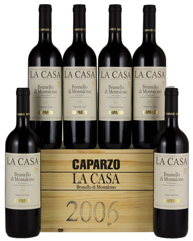 CAPARZO - BRUNELLO MONTALCINO LA CASA (COLLECTION 00/03/04) - FERRARI SINGAPORE