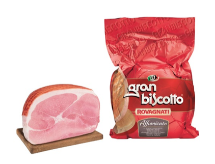 Rovagnati-Ham Cooked Grand Biscotto Smoked 4/5kg