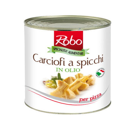 ROBO - ARTICHOKE QUARTERS IN OIL 2.4KG - FERRARI SINGAPORE