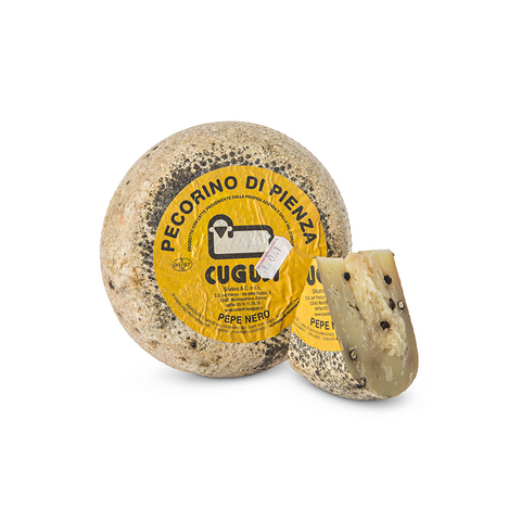 PECORINO PIENZA WITH BLACK PEPPER 1KG (CUGUSI) - FERRARI SINGAPORE